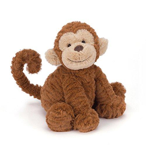 Jellycat Fuddlewuddle Affe Kuscheltier Stofftier Plüsch - mittelgroß - 23cm - Monkey
