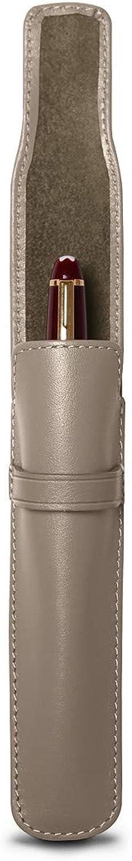 Lucrin - - - Stift Hülse - Hellbraun - Glattleder B006GTUWBQ  | Lassen Sie unsere Produkte in die Welt gehen  6bdda8