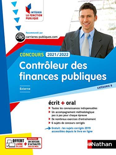 Contrôleur des finances publiques 2021/2022 - Cat. B - Intégrer la fonction publique N° 7 - 2021