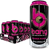 Bang Power Punch Energy Drink, 0 Calories, Sugar Free with Super Creatine, 16oz, 12 Count