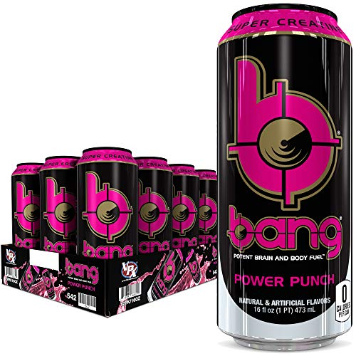 Bang Power Punch Energy Drink, 0 Ca…