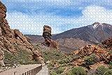 España Volcán Teide Tenerife Rompecabezas para adultos Rompecabezas de madera de 1000 piezas para adultos