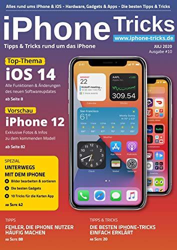 iPhone Tricks #10: iOS 14, iPhone 12, iPhone Fotos bearbeiten & sortieren, Gadgets & Karten App: Tipps & Tricks rund um das iPhone (German Edition)