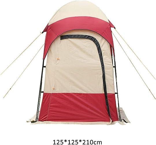DWJ-Z Camping Tente, Baignade Toilettes Pansement La Photographie De Plein Air Plage Tente 125  125  210cm