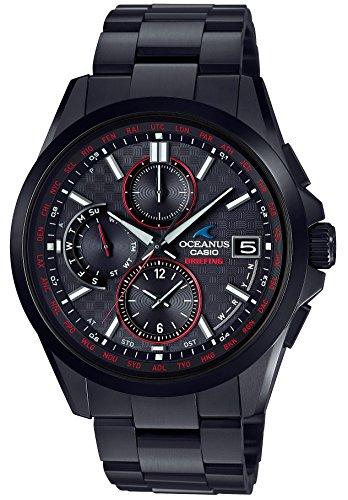 [カシオ] 腕時計 オシアナス CLASSIC BRIEFING コラボレーションモデル 電波ソーラー OCW-T2610BR-1AJR メ...