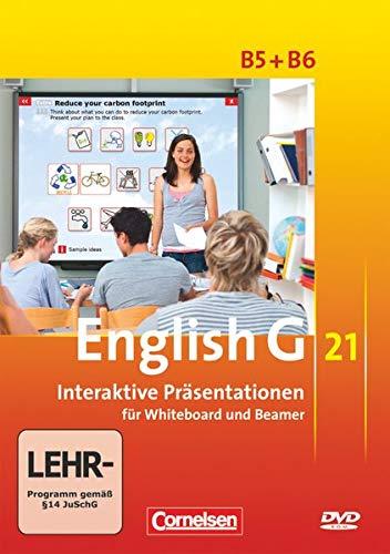 English G 21 - Materialien für Whiteboard und Beamer - Ausgabe B: Band 5/6: 9./10. Schuljahr - Interaktive Präsentationen für Whiteboard und Beamer: DVD-ROM