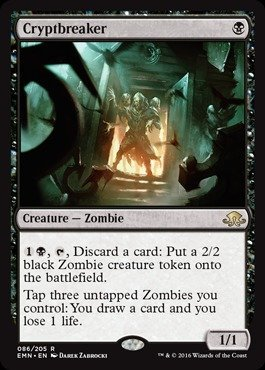 Magic: the Gathering - Cryptbreaker (086/205) - Eldritch Moon by