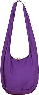 PANASIAM Schulterbeutel für Damen & Herren I große Baumwoll-Tasche in 2 Größen - angenehm leicht & erfreulich robust I mit...