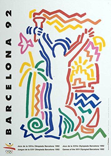 Barcelona 92 poster 70x50cm