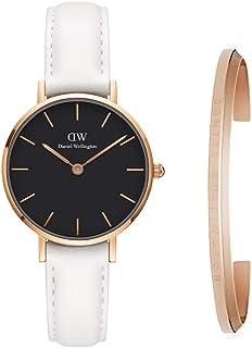 Daniel Wellington Gift Set, Petite Bondi 28mm Rose Gold Watch with Classic Bracelet, Size Small