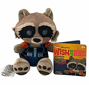 Rocket Raccoon Wishables 4  Plush Doll Guardians of The Galaxy