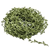 Sewing Trim Embellishments Lace Ribbon,Hecaty 44 Yards Greek Olive Green Leaf for DIY Craft Baby Shower Party Wedding Home Decoration (44 Yards)
