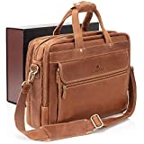 Luxorro Leather Briefcases For Men...