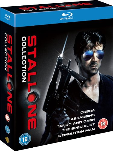 The Sylvester Stallone Collection (Assassins, The Specialist, Tango and Cash, Demolition Man, Cobra) [Blu-ray] (Region Free)
