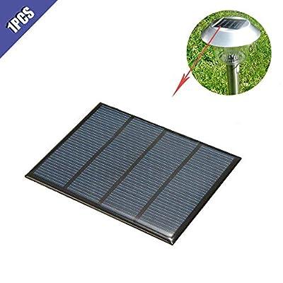 Comidox 1.5W 12V Mini Solar Panel Solar Drop Glue Voard Polycrystalline Silicon Board DIY Solar Panels Cell Module Charger 1Pcs