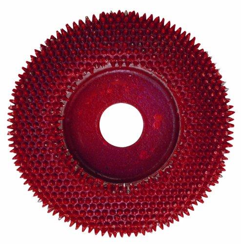 PROXXON 29050 Raspelscheibe mit Metallnadeln für Langhalswinkelschleifer LWS LHW