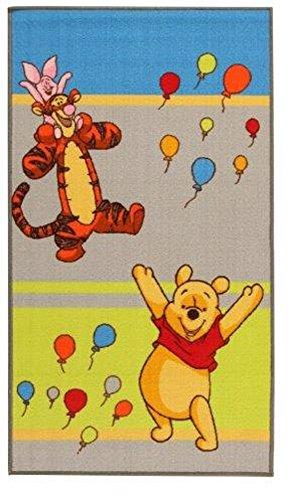 Disney - Alfombra infantil con diseño de Winnie the Pooh (80 x 140 cm)