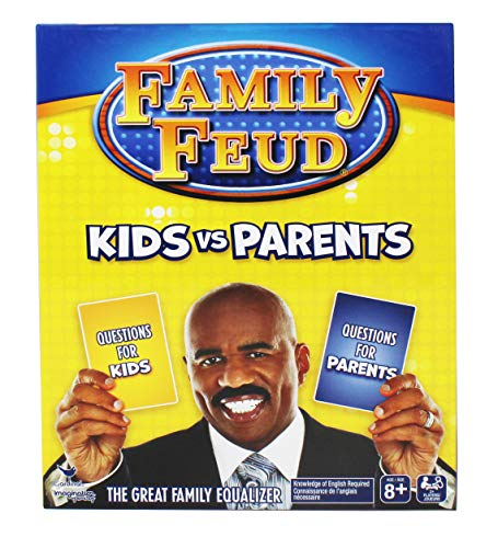 Steve Harvey Family Feud, Kids Vs Parents Edition Family Party Game, Ages 8 and Up