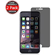 [2-Pack] iPhone 8/7 / 6 Privacy Screen Protector, Eastoan Premium Anti-Spy Tempered Glass Film for iPhone 8/7 / 6 4.7 Inch-Anti-Spy