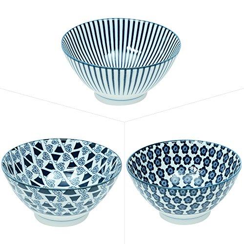 Table Passion - Saladier en porceleine 18 cm kawai (1 modèle aléatoire)