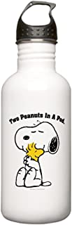 CafePress Snoopy And Woodstock H Stainless Water Bottle 1 Stainless Steel Water Bottle, 1.0L Sports Bottle