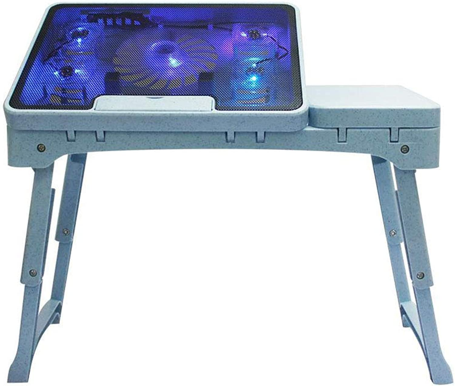 LiTing-Folding Table Laptop Desk Bed Simple Desk Reading Desk Foldable Corner Simple Table