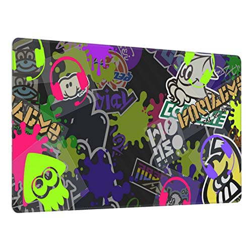 Mouse Pad Splatoon Large Gaming Mousepad Extended Desk Mat Ultra Thick Mousepad for Office Gamer Home 29.5'X15.8'