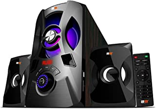 2B (SP864) Subwoofer 2.1 (30W & 10X2W) AUX, USB, Bluetooth with Remote Control - Black