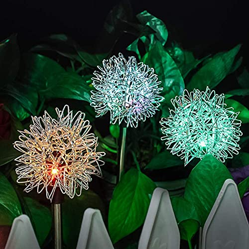 Kansang Solar Garten Dekoration Lichter-Outdoor 4Pcs Solar Lichter,...