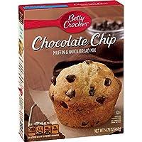 Betty Crocker ベティクロッカー チョコレートチップ マフィン&クイックブレッド ミックス 418g Chocolate Chip Muffin & Quick Bread Mix -14.75oz [並行輸入品]