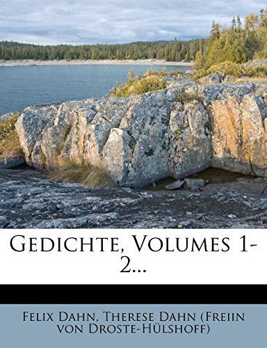 Gedichte Von Felix Dahn, Erster Band