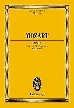 MASS IN C MINOR K427 (MISSA) STUDY SCORE (Edition Eulenburg) by H.C. Robbins Landon(1985-11-01)