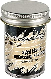 STAMPENDOUS Aged Embossing Enamel, 60-Ounce, Black