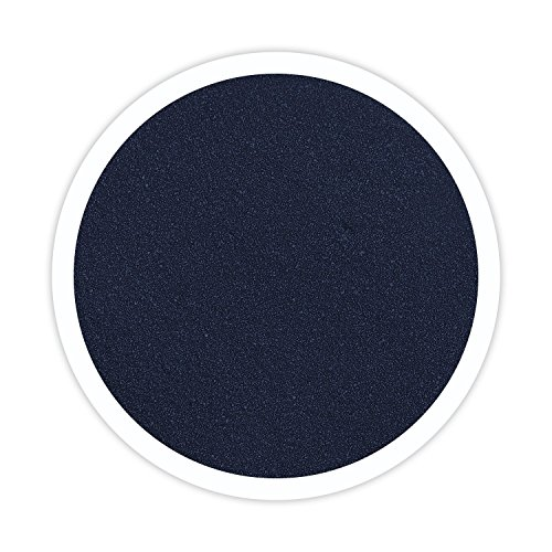 Sandsational Sparkle Marine (Navy Blue) Unity Sand, 22 oz, Colored Sand for Weddings, Vase Filler, Home Décor, Craft Sand