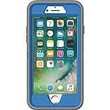 OtterBox DEFENDER SERIES Case for iPhone 7 (ONLY) - Retail Packaging - MARATHONER (COWABUNGA BLUE/GUNMETAL GREY)