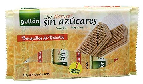 Diet Nature - Galletas Barquillos Gullón Paquete 180 g