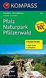 Pfalz - Naturpark Pfälzerwald: Wanderkarten-Set mit Radrotuen und Aktiv Guide in der Schutzhülle. GPS-genau. 1:50000: 2-delige Wandelkaart 1:50 000 (KOMPASS-Wanderkarten, Band 826)