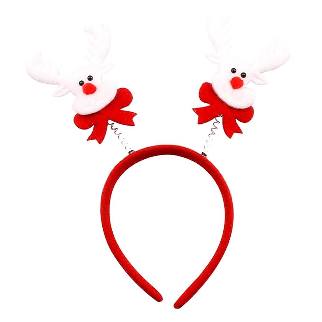 後者火山アシュリータファーマンYideaHome ヘッドバンド クリスマス 子供 トナカイ耳 コスプレ パーティー ヘアバンド サンタクロース クリスマスカチューシャ 小道具 髪飾り 可愛い