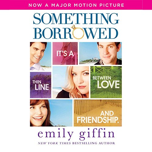 Something Borrowed                   By:                                                                                                                                 Emily Giffin                               Narrated by:                                                                                                                                 Jennifer Wiltsie                      Length: 10 hrs and 37 mins     1,174 ratings     Overall 4.0