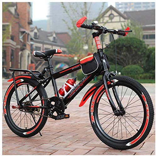 Mountain Bike 22 Inch Outroad Anti-Slip Bike with Double V Brakes And High Carbon Steel Frame, Lightweight Road Bike Racing, for Men And Women