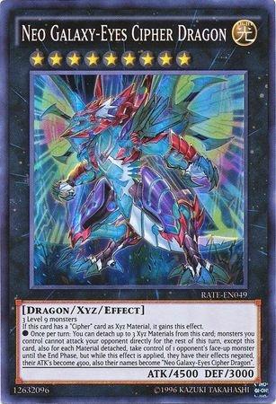 Yu-Gi-Oh! - Neo Galaxy-Eyes Cipher Dragon - RATE-EN049 - Super Rare - Unlimited Edition