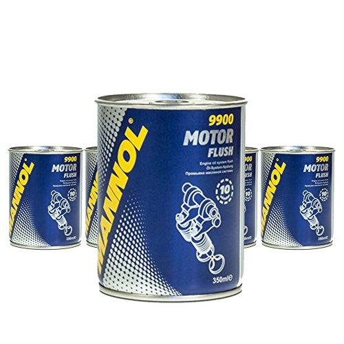 5 x 350 ml MANNOL 9900 motor flush/motorspoeling motorolie additief additief