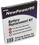 NewPower99 Battery Kit for Samsung Galaxy Tab S3 SM-T820NZKAXAR with Video, Tools and Extended Life Battery