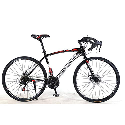 YTNP Mens Mountain Bike ,Adults Trek Bycicles,Variable Speed Bike Dual Disc Brakes (21 Speed) Anti-Slip Bicycles