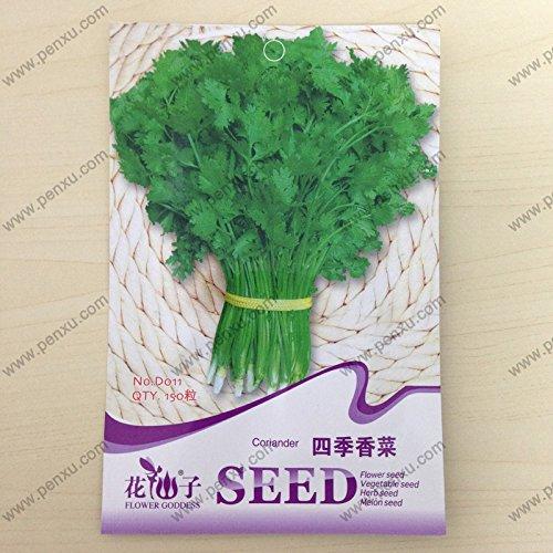SVI Semences d'origine Paquet de végétales/coriandre (Stations de persil) des graines, fleurs matures de 30 jours, a 150 particules de semences/sac