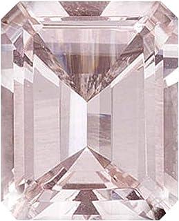 Mysticdrop 0.83-1.00 Cts of 7x5 mm AAA Emerald Cut Morganite (1 pc) Loose Gemstone