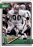 2018 Classics Football #166 Jim Otto Oakland Raiders Legend Panini NFL Card