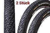 2 Stück 26' Zoll Continental Race King 2.2 Sport Fahrrad Reifen Mantel 55-559 schwarz