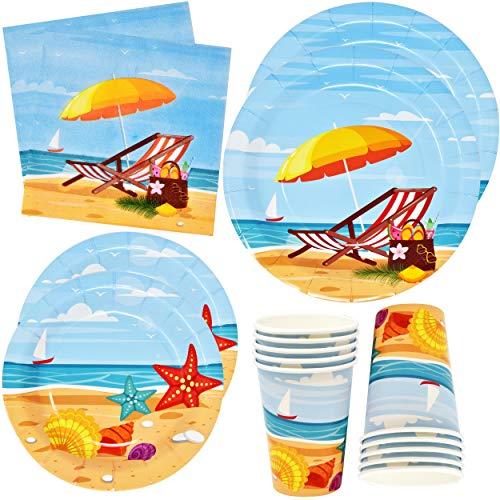 Beach Summer Party Tableware Set