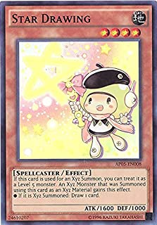 Yu-Gi-Oh! - Star Drawing (AP05-EN008) - Astral Pack: Booster Five - Unlimited Edition - Super Rare